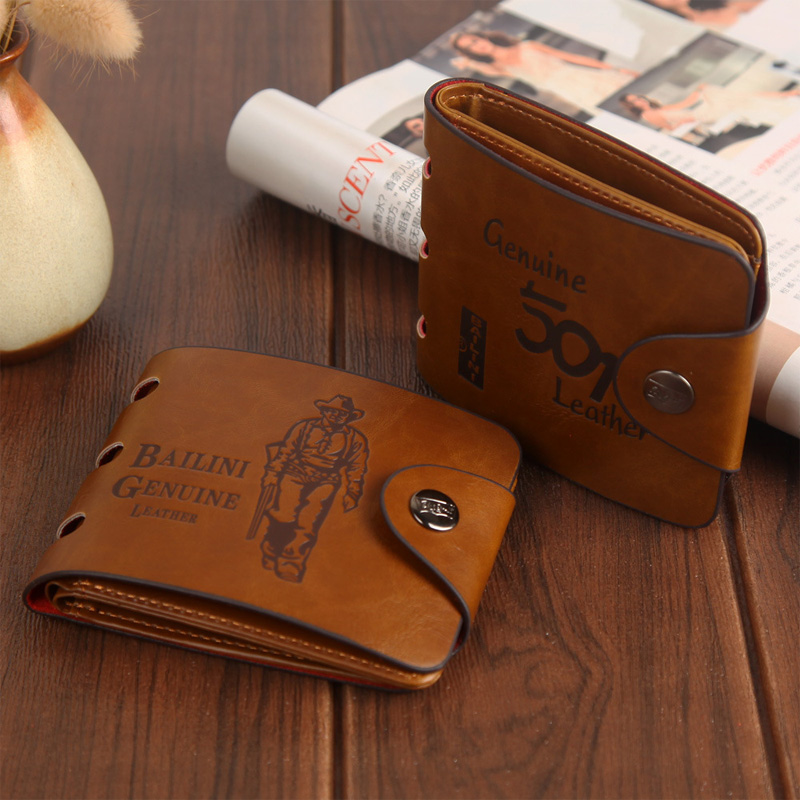 Brave Bailini Brown Synthetic Leather Wallet for Cowboy Lovers