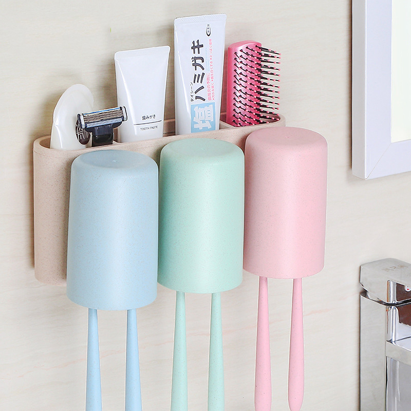 Colorful Bath Rack for Toothbrushes and Other Beauty Tools