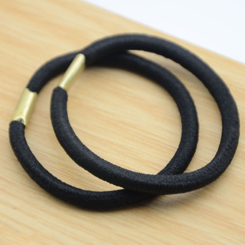 Simple Handmade Black Hair Rope for  Everyday Use