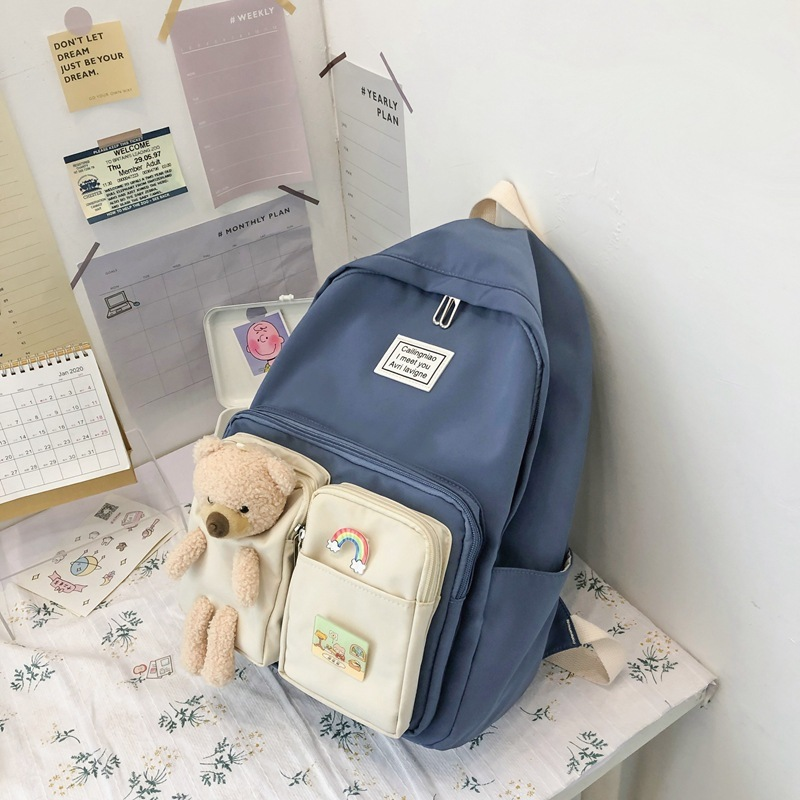 Adorable Charms Backpack for Stylish Cute Ensembles