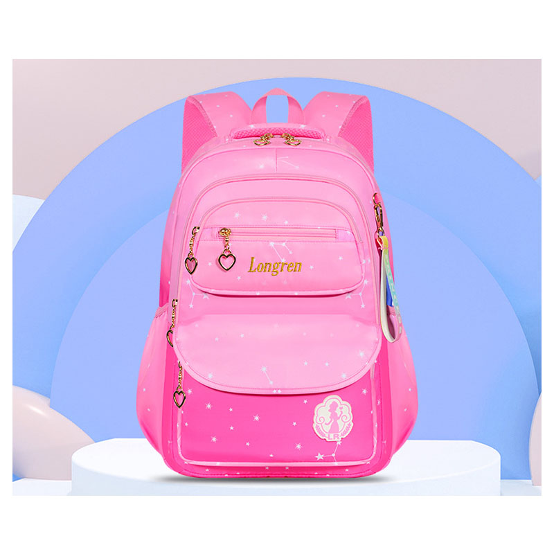 Adorable Pink Series School Backpack for Little Girls