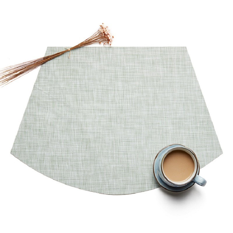 Native Colored Woven Placemats for Simple Kitchens