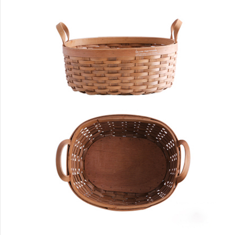 Native Woven Storage Basket for Holding Fruits and Vegetables