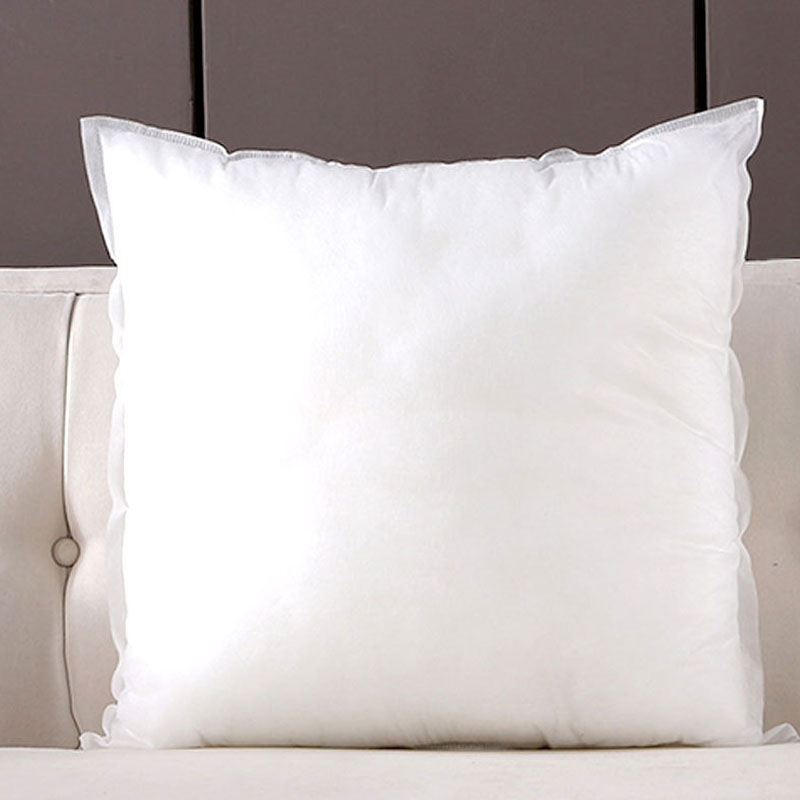 Brushed and Non-woven Pillow for Sofa and Bed