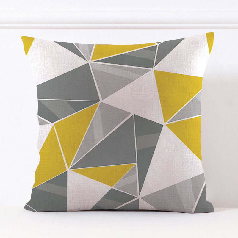 Assorted Pattern Printed Throw Pillows for Nordic Style Homes