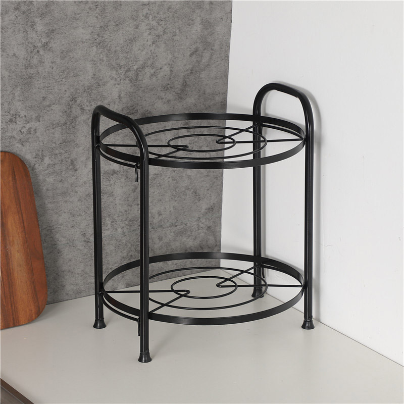 Multi-Layered Kitchen Pot Rack for Uncluttered Kitchens