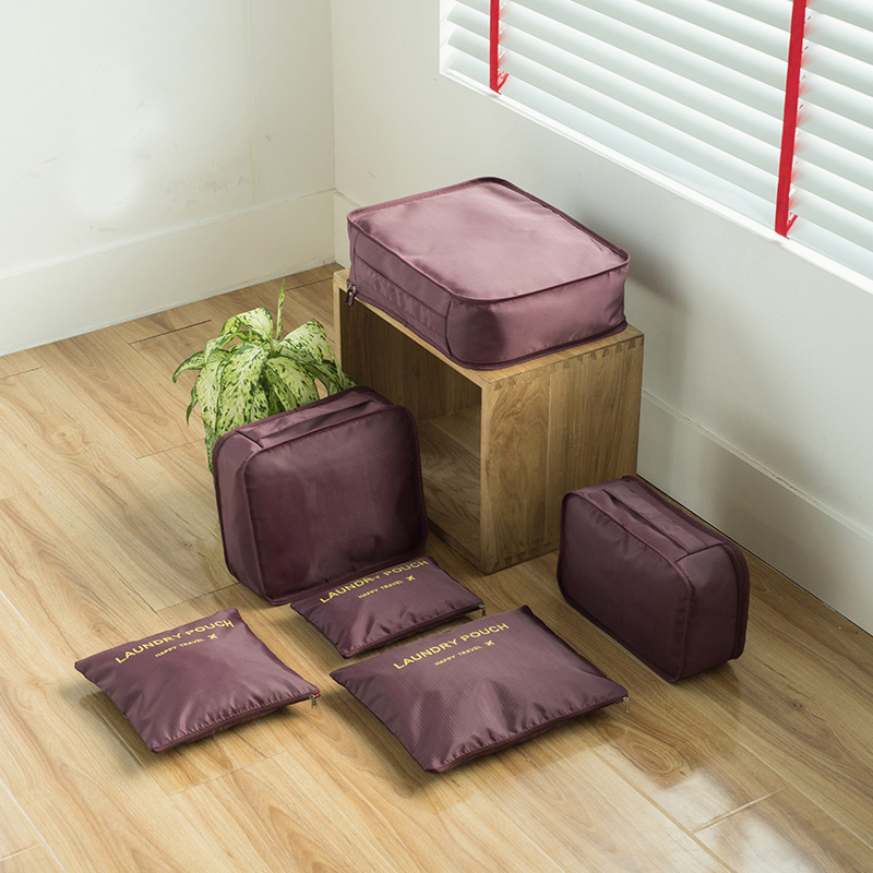 6-Piece Clothes Organizer Set for Travelling