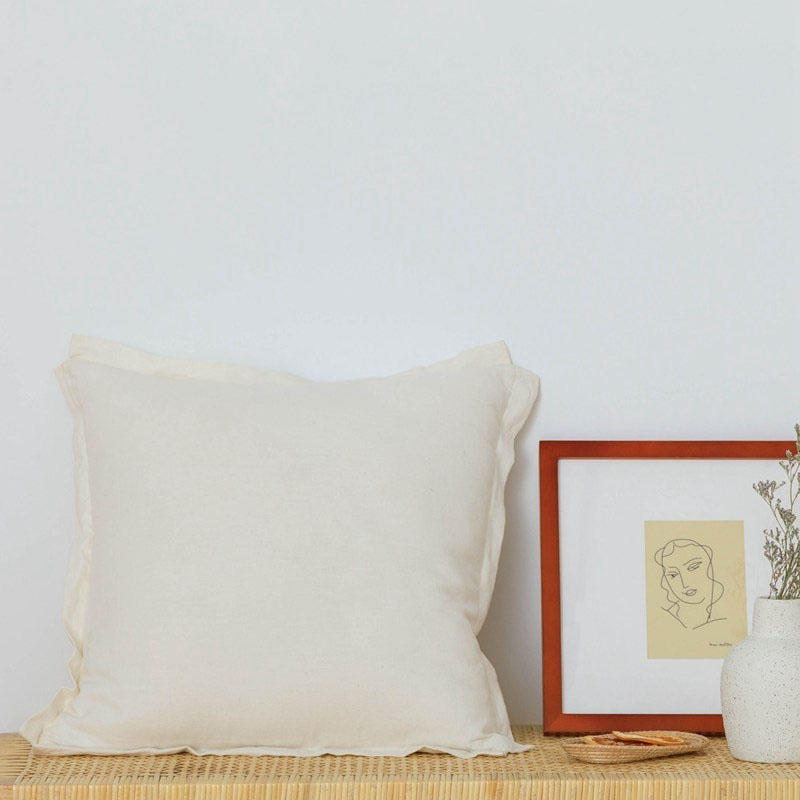 Simply Fluffy Throw Pillow for Homey Living Rooms
