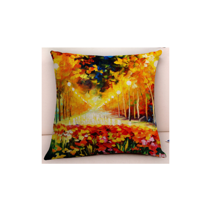 Vibrant Art Masterpiece Pillowcase for Art Deco Style Homes