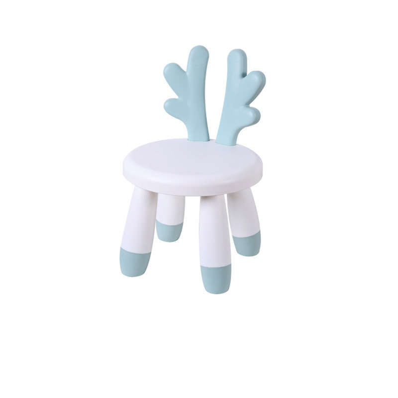 Cute Small Plastic Chair for Kids Backrest