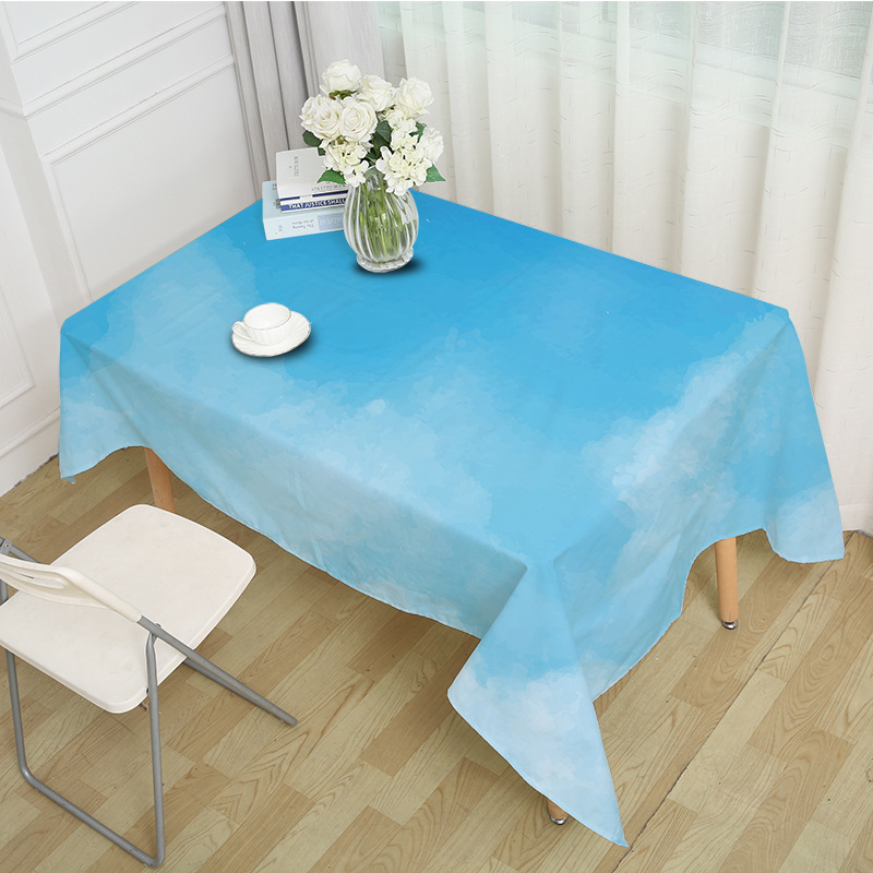 Vibrant Nature Colors Tablecloth for Travel Lovers