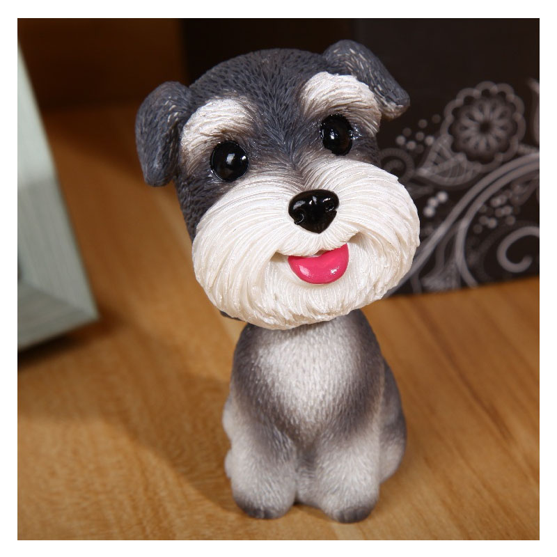 Cute Dogs Car Decor for Simple Gifts