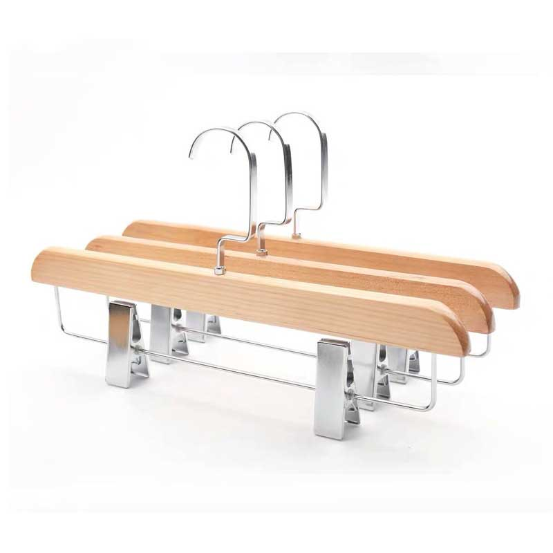 Solid Wood Clothes Hanger for Trousers