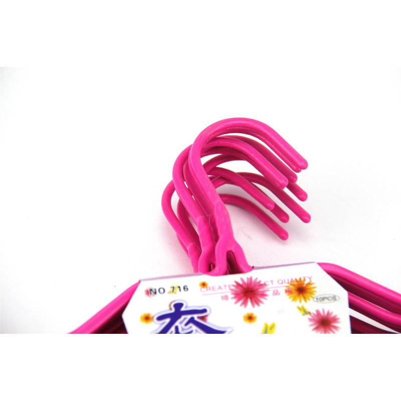Cute Pink Plastic Hanger for Wet Clothes