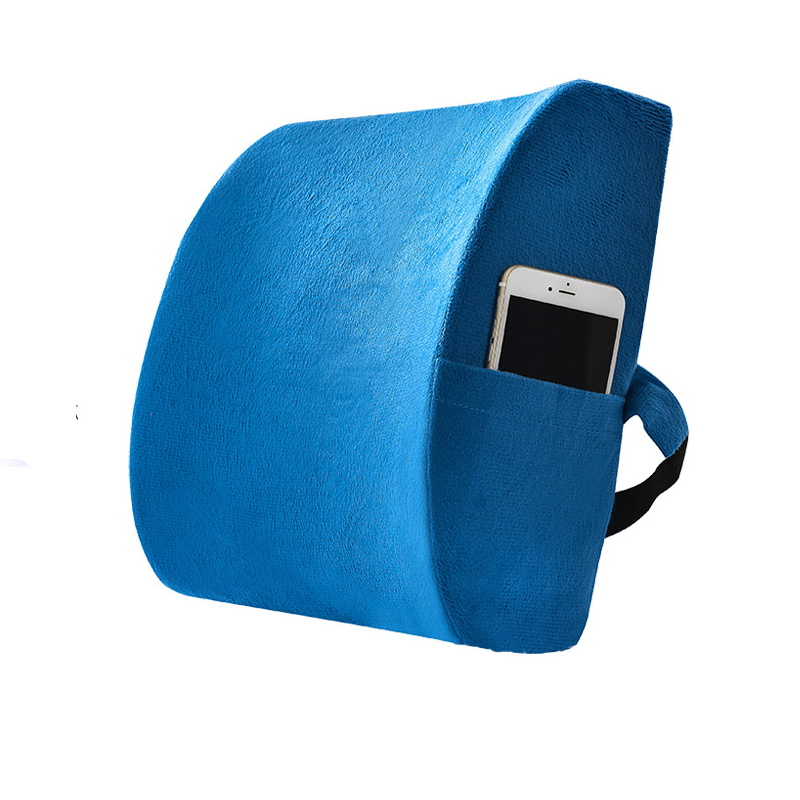 Attachable Backrest Pillow for Hard Seats