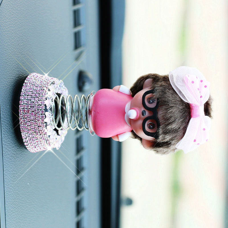 Shaky Head Baby Mouse Doll for Cute Car Decoration