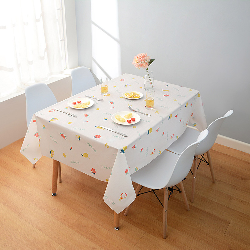 Nordic Printed Tablecloth for Waterproofing Your Dinner Tables