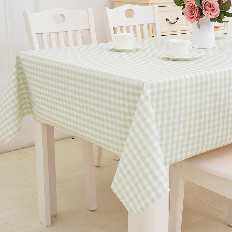 Colorful Polyvinyl Chloride Tablecloths for Brightening Up Your Dining Area
