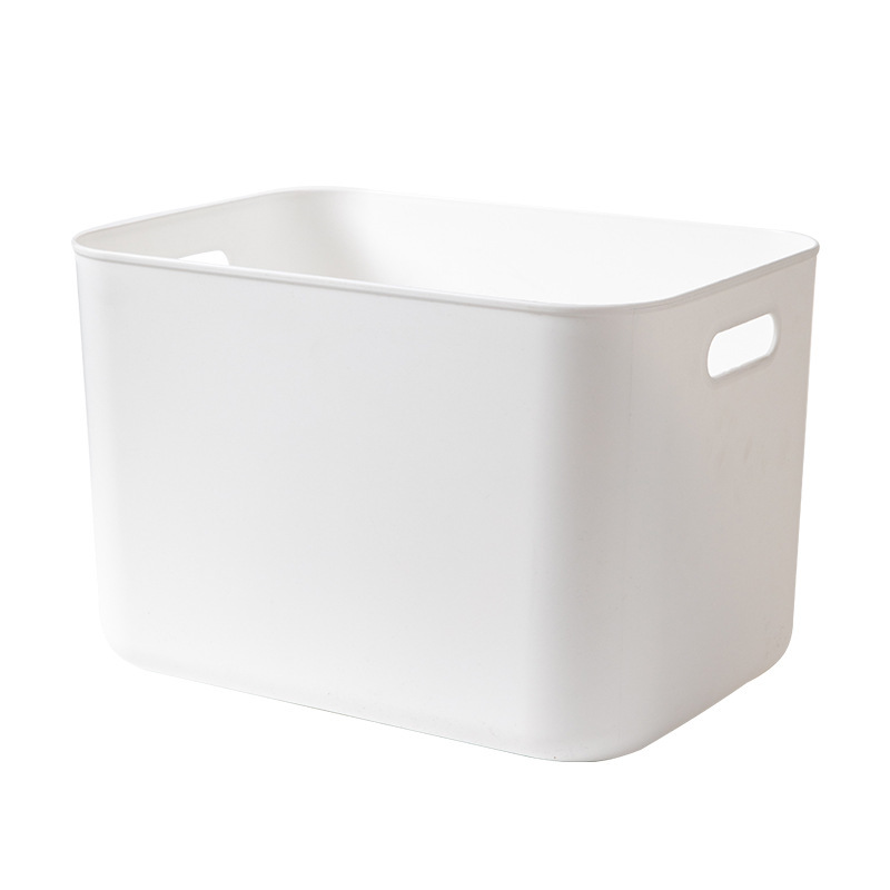 Modern Storage Box with Hand Slot ad Lid for Sorting Items