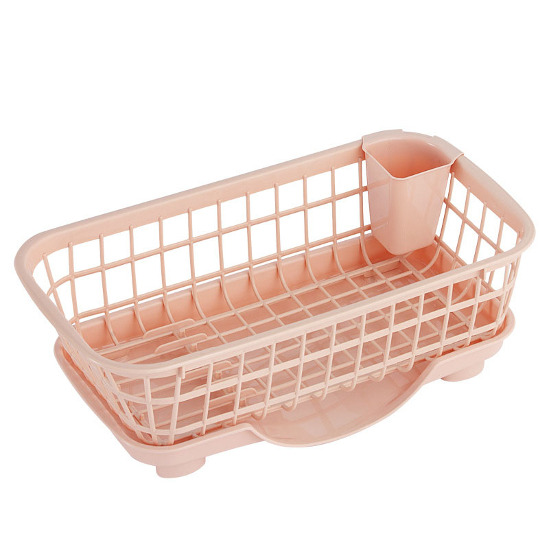 Dish Drain Basket for Plates and Utensil