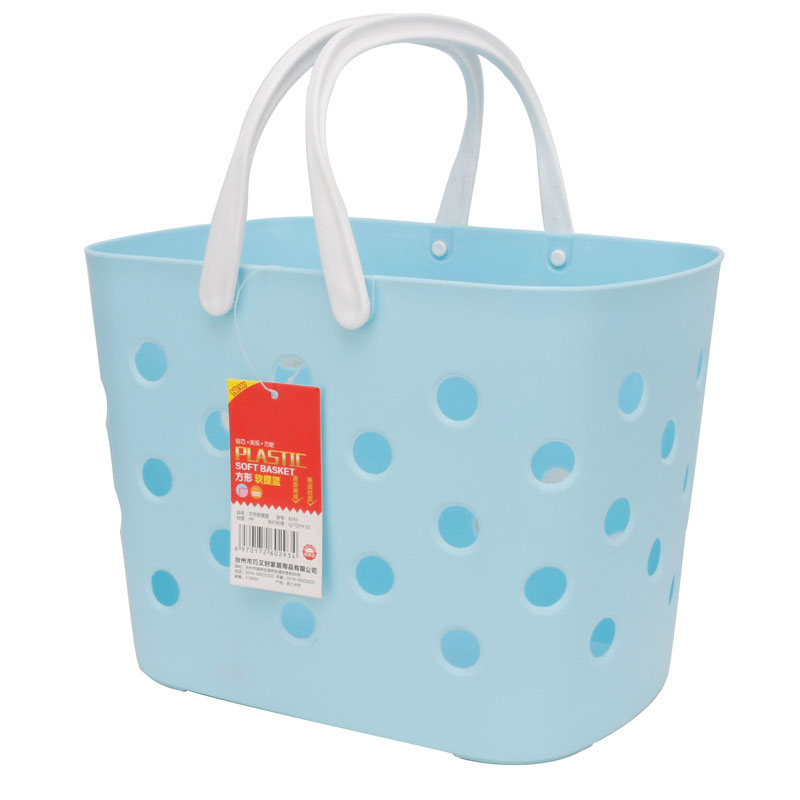 Light Polypropylene Basket for Clothes and Toiletries