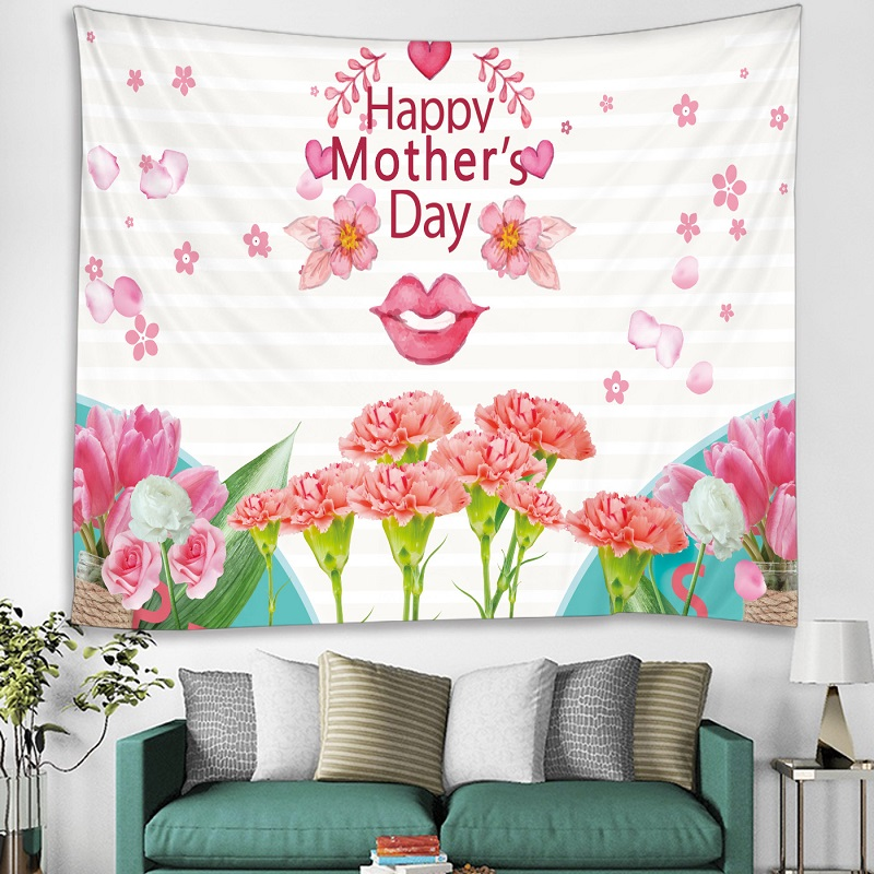 Lovely Moms Tapestry for Mothers' Day