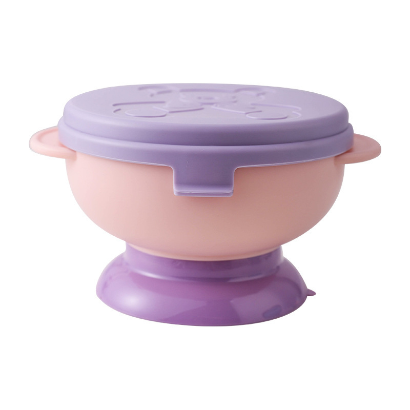 Adorable Elephant Baby Suction Bowl for Baby Feeding