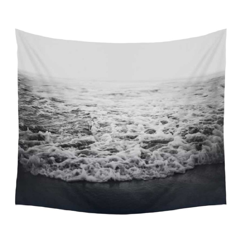 Sea Wave Tapestry for Bedroom