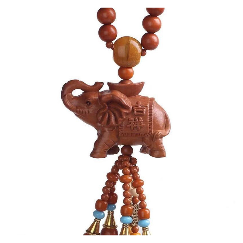 Decorative Wooden Car Hanging Accessories for Safe Travel