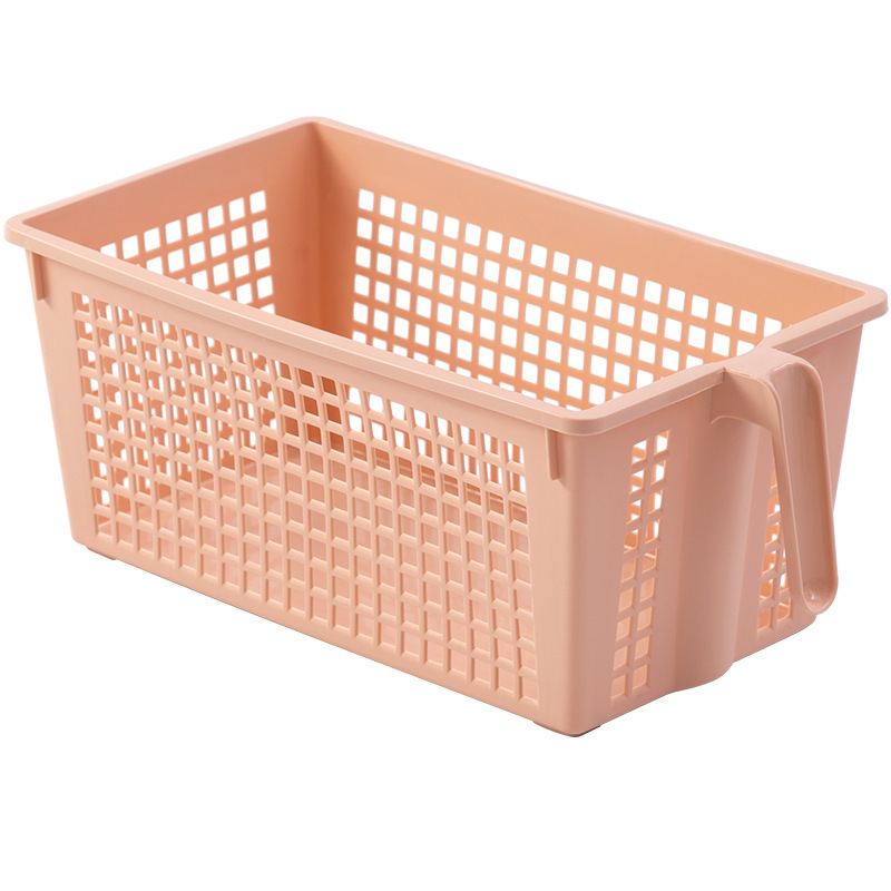 Polypropylene Storage Basket with Handle for Storing Condiments