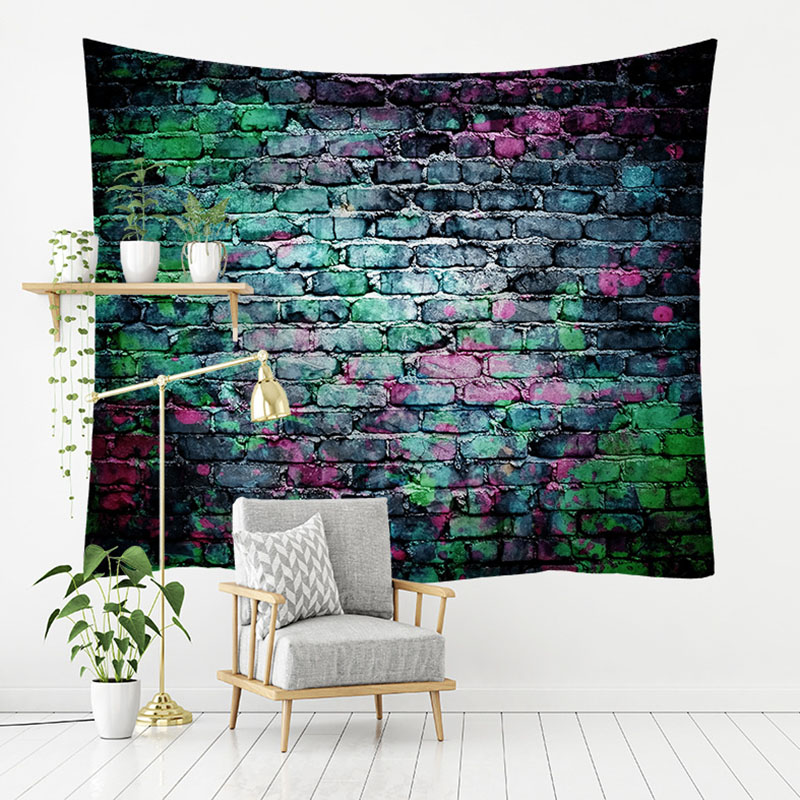 Artistic Brick Tapestry for Wall