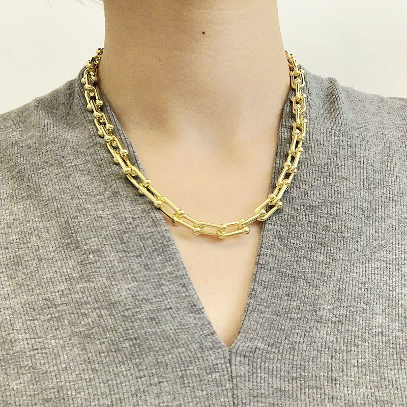 Gold Chain Necklace for Fashion