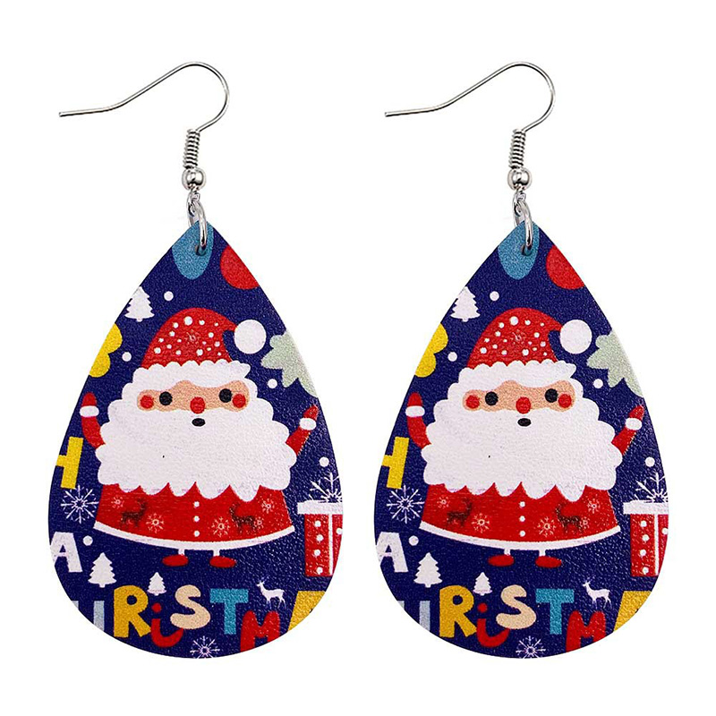 Festive Christmas Hook Earrings for Chic Outfits