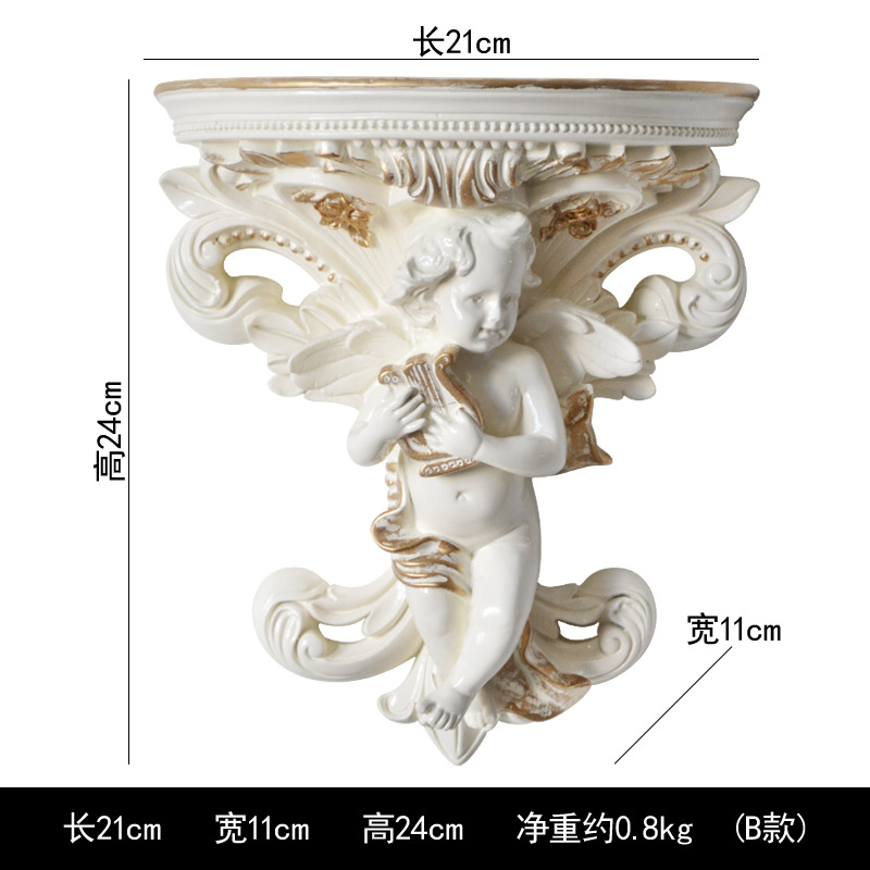 Ancient Roman Style Wall-Mounted  Cupid Vase for Home Decoration