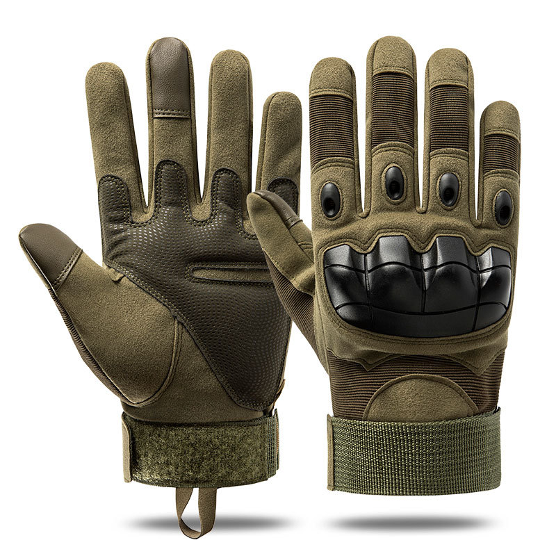 Soft Shell Protective Pad Tactical Gloves