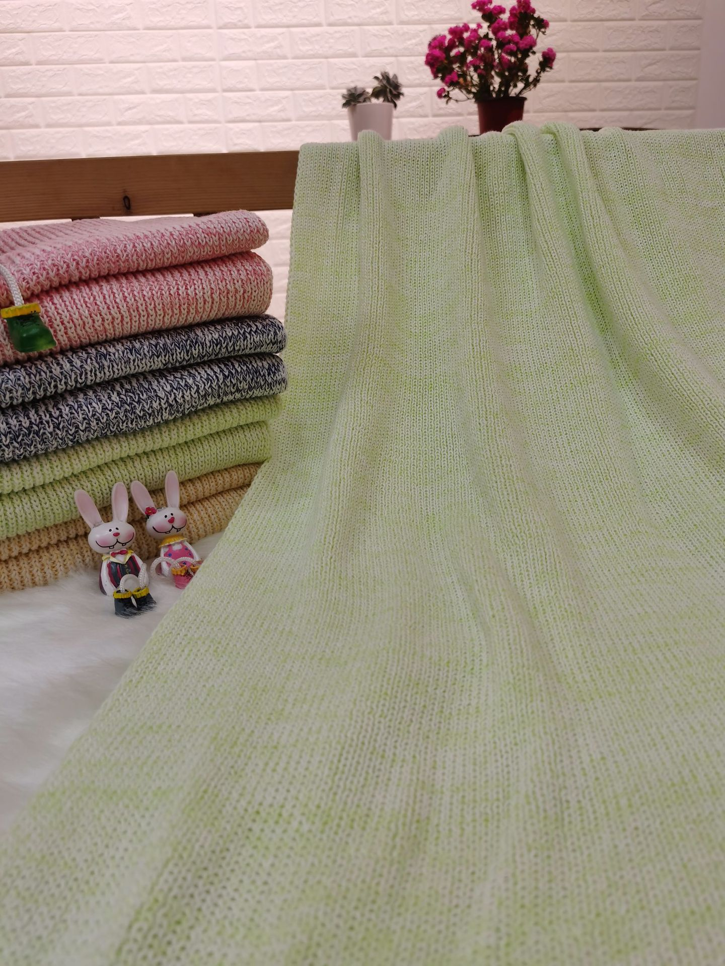 Carefully Sewn Cotton Blanket for Cold Weather