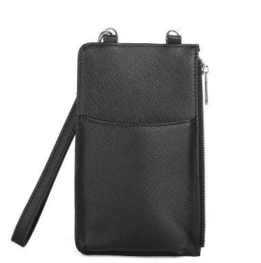 Posh Classic Synthetic Animal Print Mobile Phone Messenger Bag for Daily Casual Matchy Attire