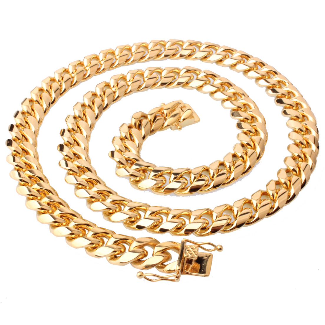Funky Chain Titanium Steel Necklace for Street Style Looks