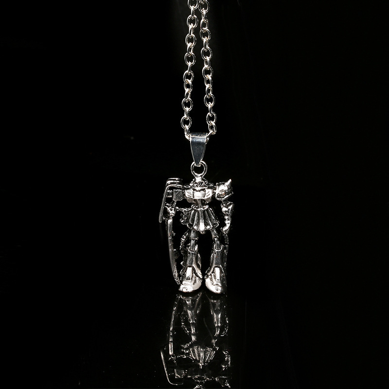 Trendy Stainless Steel Robot Necklace for Robot Fanatics