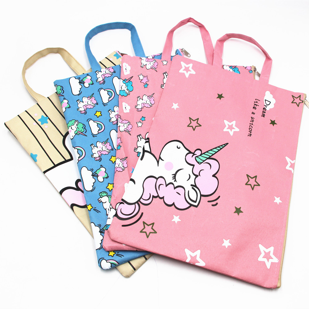 Waterproof Unicorn Design Tote Bag for Kids and Kids at Heart