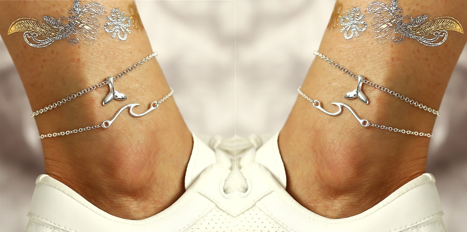 Classic Nautical Alloy Anklet for Beach Occasion