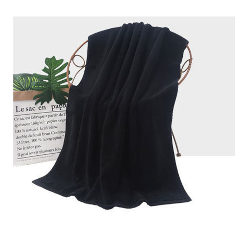 Plain and Simple Cotton Bath Towel for Daily Use