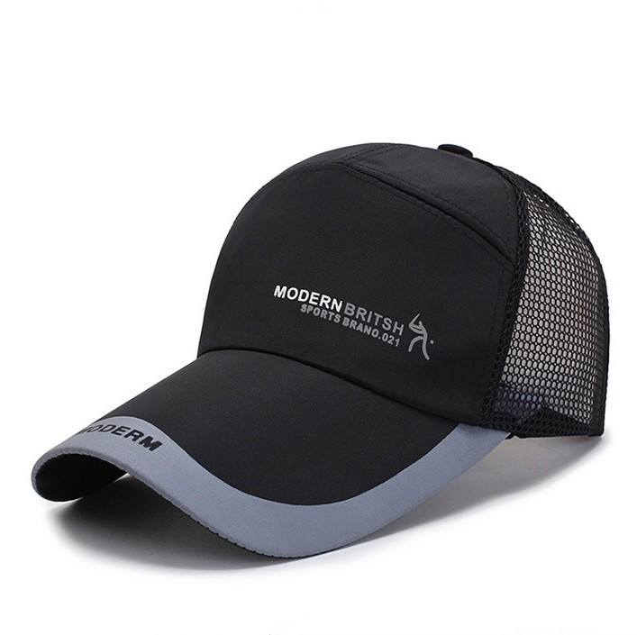 Breathable Two-Toned Sun Shade Baseball Cap for Outdoor UV Ray Protection