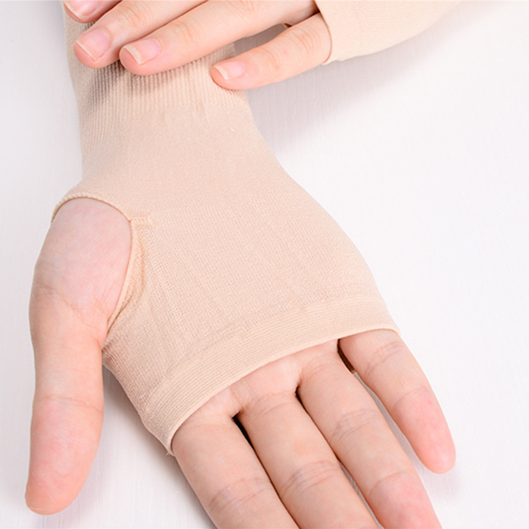 Sun Protection Arm Sleeves and Gloves Combination