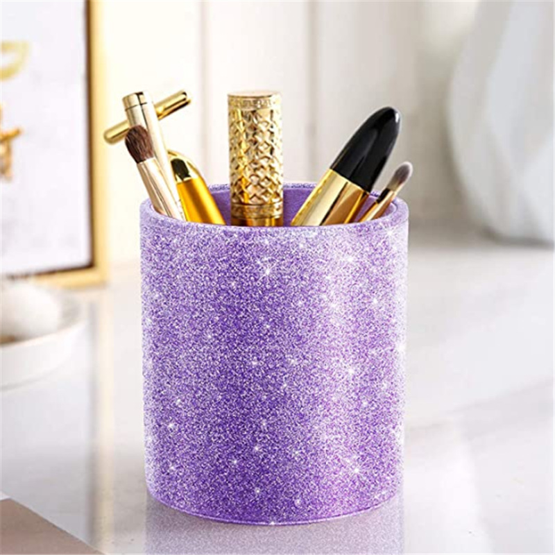 Starry Leather Pen Holder