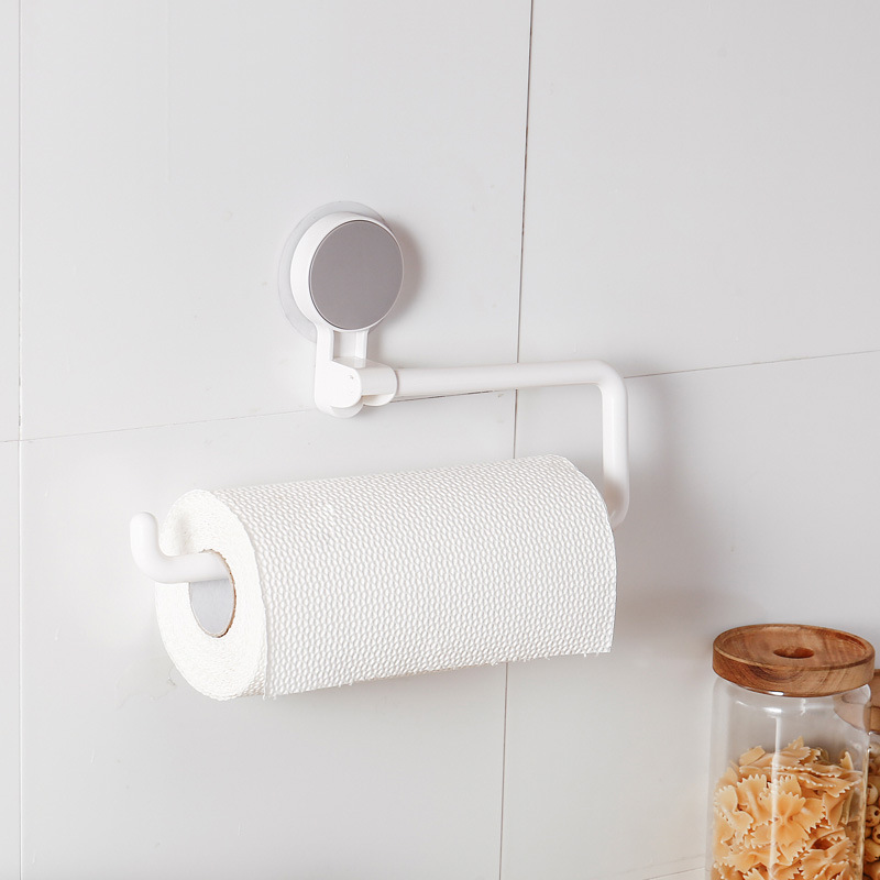 Suction Cup Paper Towel Holder for Kitchens