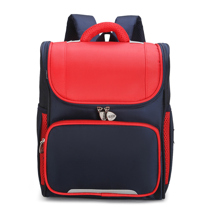 Simple Three-Dimensional Backpack for Breathable School Wear