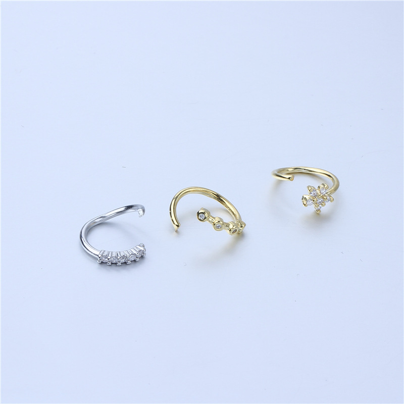Vulle Crystal Design Nose Rings