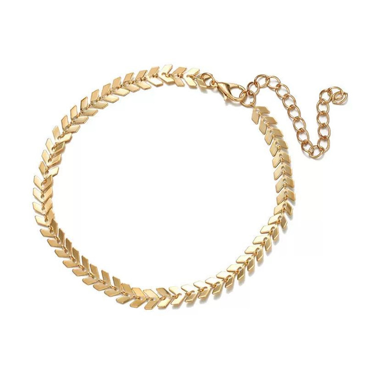 Eye-Catching Minimalist Anklet for Formal Night Events