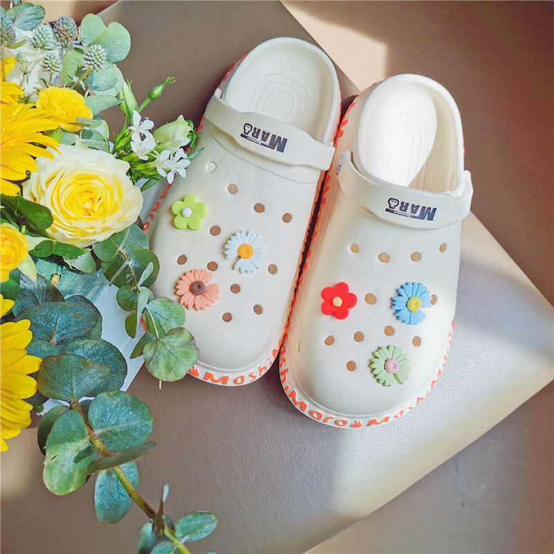 Cute Slippers with Holes for Quick Grocery Runs